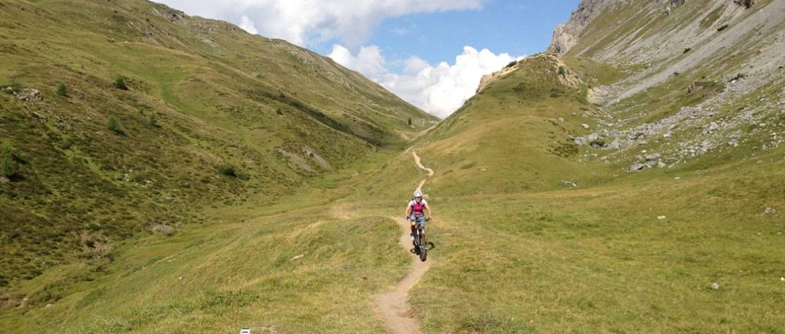 Transalp Livigno - Mountainbike Tour